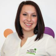 A smiling megan a certified technician at lice clinic lexington